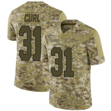 Youth Kamren Curl Washington Redskins Limited Camo 2018 Salute to Service Jersey